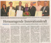 Herausragende Innovationskraft