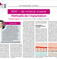 MIMI - die minimal-invasive Methodik der Implantation