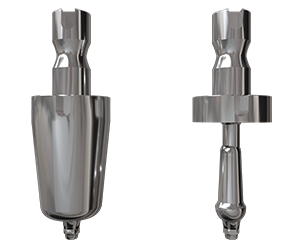 Individualisierte Preform-Abutments